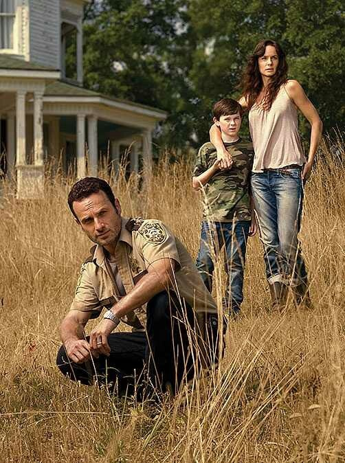 TWD - season 2 Rick, Carl and Lori