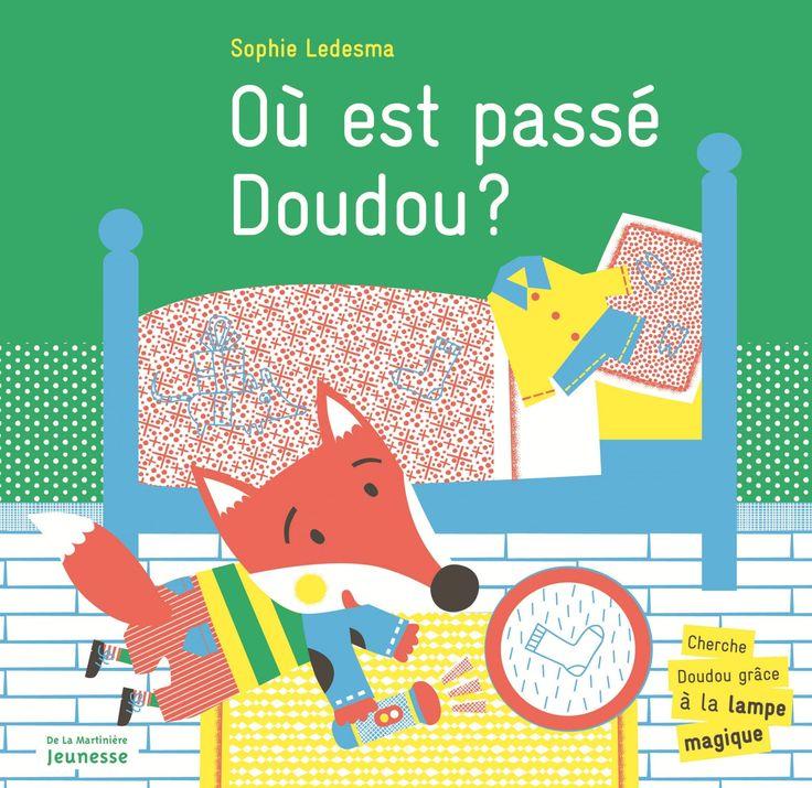 Ce matin, Doudou a encore disparu ! Une chasse aux trésors originale, drôle, interactive et pédagogique.