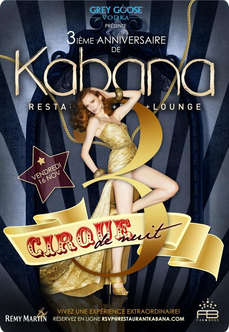 3ième anniversaire de Kabana! - 3rd anniversary of Kabana. | www.RestoMontreal.ca