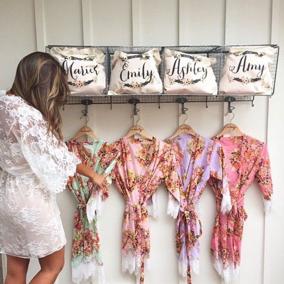 Awesome 48 Fabulous Bridesmaids Robes Wedding Ideas That You Need To See