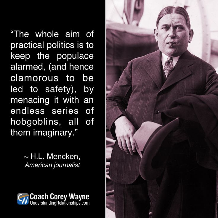 Quote By Hl Mencken: 1000+ Images About GREAT QUOTES On Pinterest