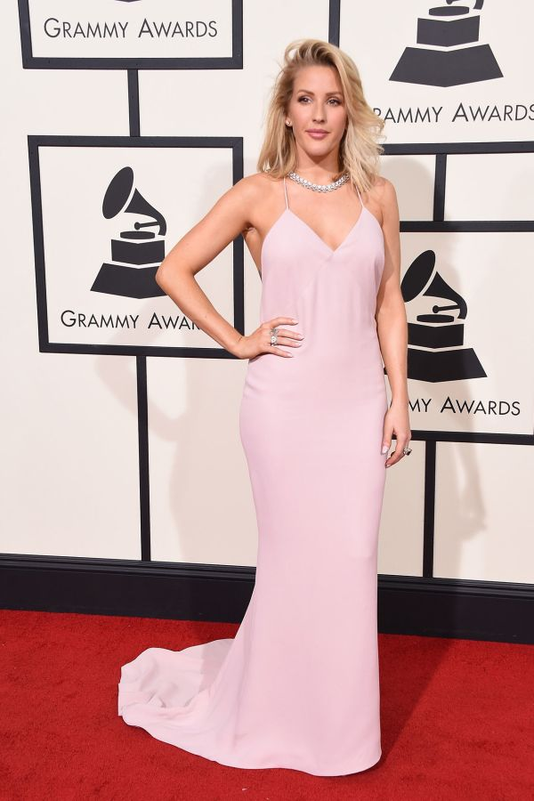 Ellie Goulding in Stella McCartney at the 2016 Grammys