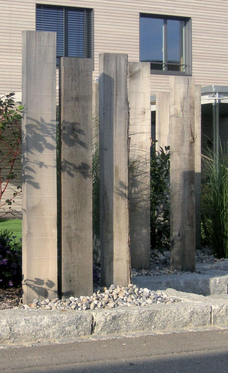 Bildergebnis für betonstelen gartenbau – #altbau …