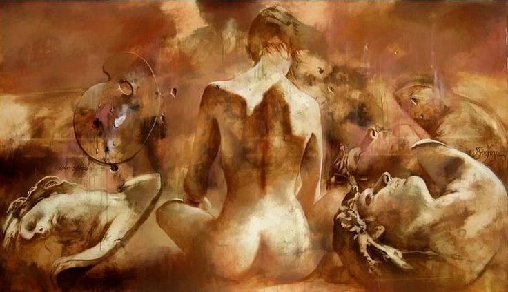 Yarek GODFREY french artist, (british & austrian origins). Born in ...  maherartgallery.blogspot.co...