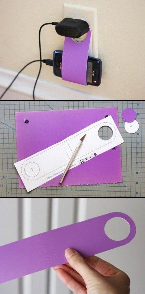 DIY Cardboard Device Holder