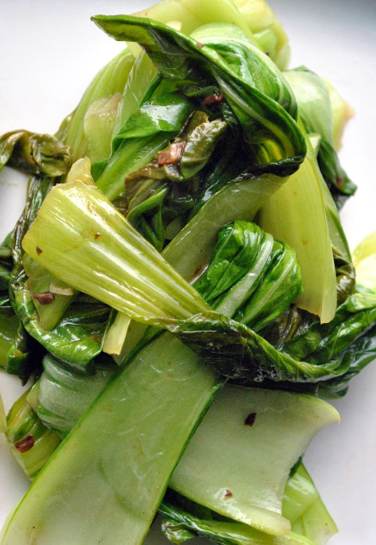 Baby Bok Choy with Garlic & Ginger: Yum! So easy and a great veggie.