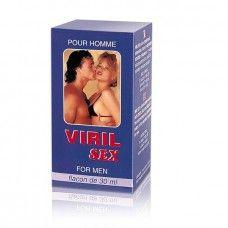 VIRIL SEX AFRODISIACO PARA EL 30ML. Viril Sex afrodisíaco que mezcla Jengibre, Kola y Citrus Aurentium consiguiendo una excelente estimulación física masculina. Los afrodisíacos funcionan estimulando los sentidos (vista, tacto, oído y olfato).