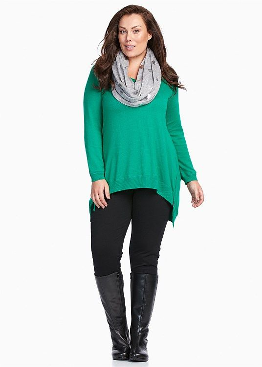 Let Me Move You Pullover #takingshape #plussize #curvy