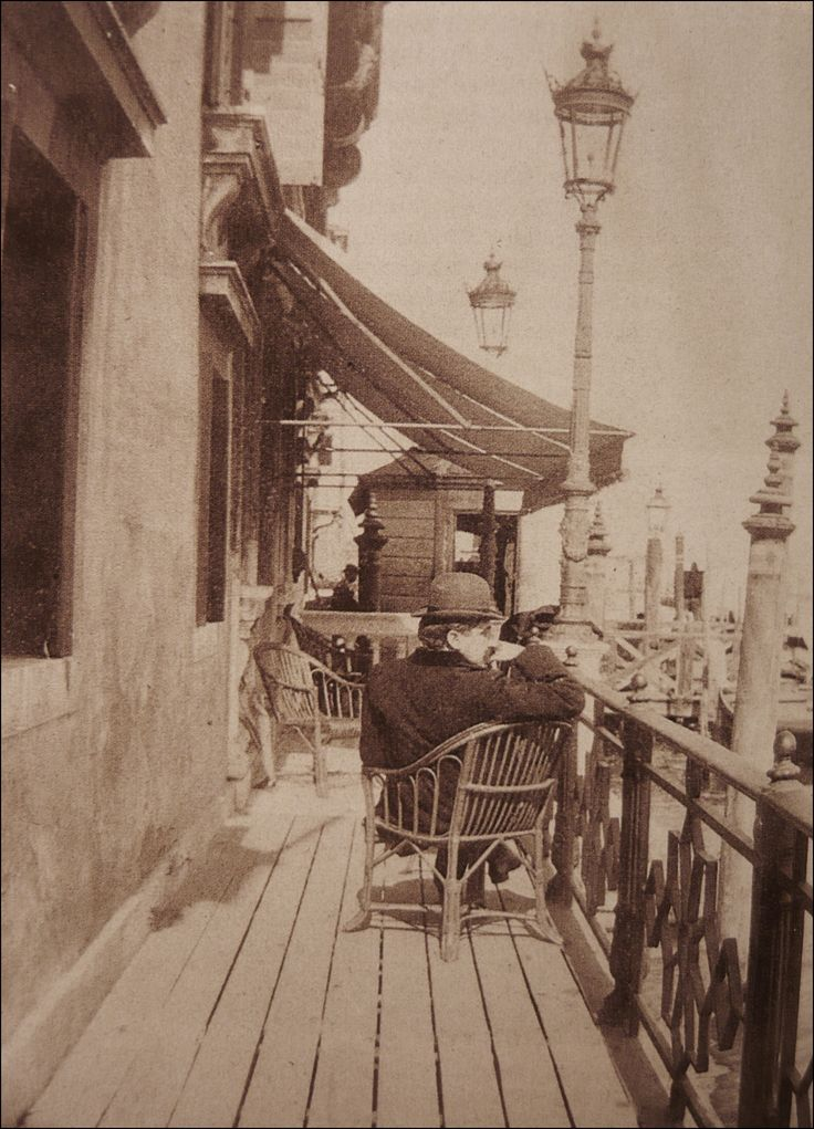 Proust in Venice, May 1900