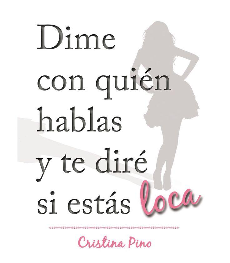 #librosquevalelapenaleer #novelas #spanish Libros que vale la pena leer. Dime con quién hablas y te diré si estás loca. Ya a la venta en www.bubok.es