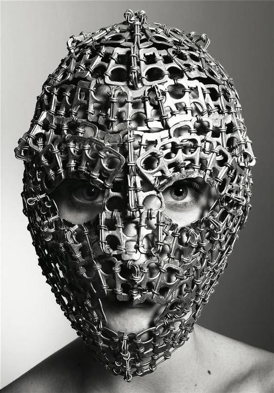 Mascaras ceremoniales, artisticas bellas modelos y cine
