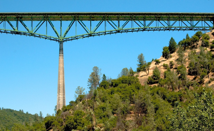 Foresthill Bridge...bungee jump with Tahoe bungee