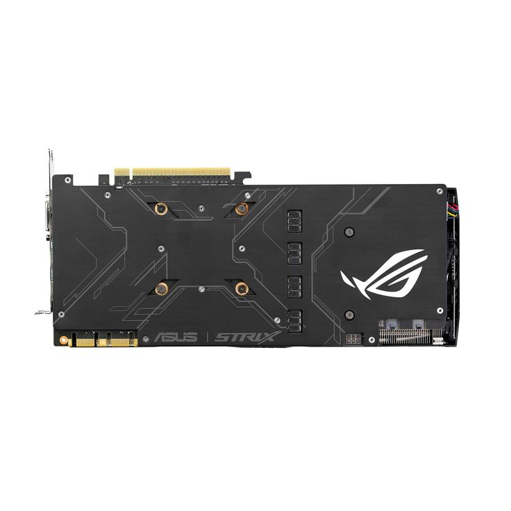 ASUS ROG STRIX-GTX1080-O8G-GAMING - GeForce GTX 1080 disponible ici. La carte ASUS ROG STRIX-GTX1080-O8G-GAMING dispose d'un overclockage d'usine pour des performances sans communes mesures. Elle intègre un éclairage à LEDs RGB pour donner à votre bijou le look et la couleur de votre choix. Sa conception à trois ventilateurs assure un refroidissement optimal pour maintenir votre GPU à une température toujours plus basse.