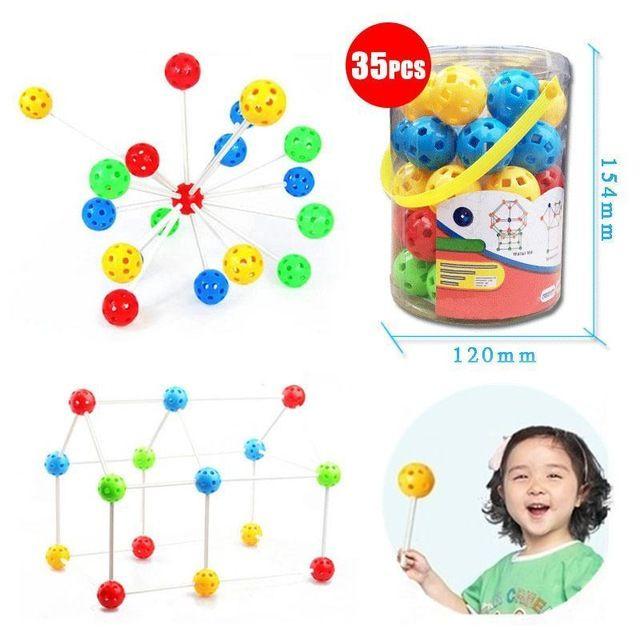 Peradix детские пазлы rinquedos цветные бусины абс-пластик мини-развивающие игры diy головоломки