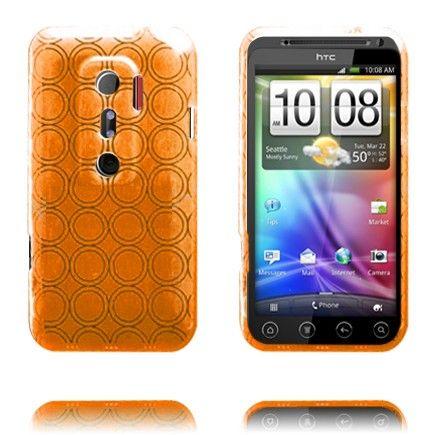 Amazona (Oranssi) HTC Evo 3D Silikonisuojus