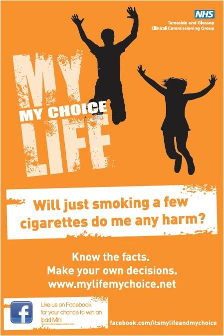 My Life My Choice smoking poster