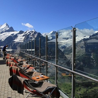 First Mountain, Grindelwald, Switzerland - best place for hot chocolate ever!