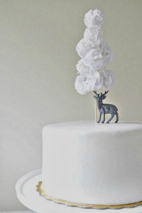 Le Frufrù: Cake topper per le feste