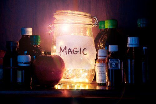 magic. fairy dust, ect jars. night light, interest point. outdoor citronella oil burner what other excuse can i devise to justify me making one or two or three?
