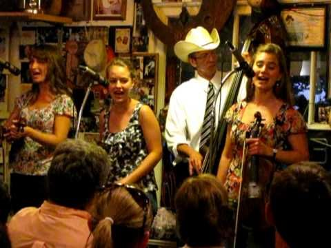 "THE QUEBE SISTERS BAND AT THE COOK SHACK - ""BLUE MOON OF KENTUCKY"""