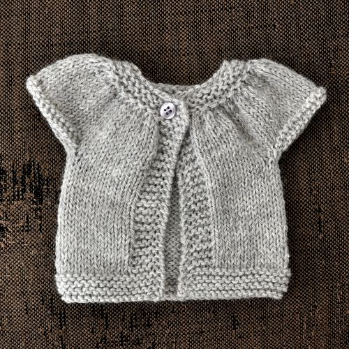 NATURKINDER: Little Kina, Doll Sweater ~ http://www.ravelry.com/projects/naturmama/little-kina ~ pattern here: http://www.ravelry.com/patterns/library/little-kina ~ pattern by Muriela ~ I started this little project yesterday and have to say, that I really enjoy this pattern! Quick and easy :)