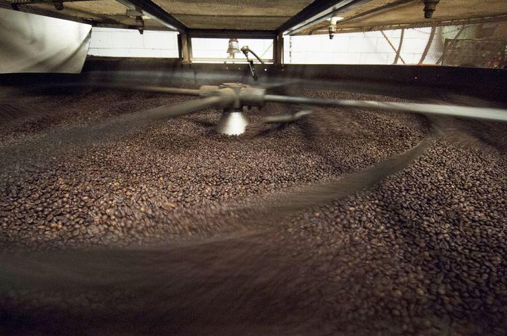 El proceso de tueste del café definirá el aroma del producto final.