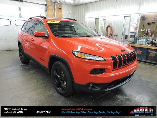 New Jeep Models in stock near Wabash Valley IN. 2017 Jeep Cherokee Limited 4x4 SUV