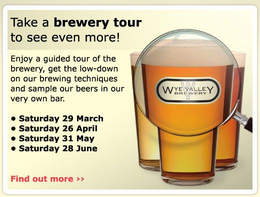 NEW - saturday tours starting at the brewery.  Booking Essential!