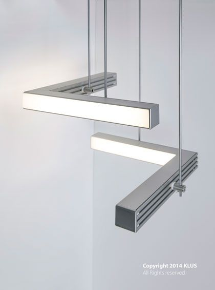 KLUS lighting composition with the use of suspended LIPOD profiles