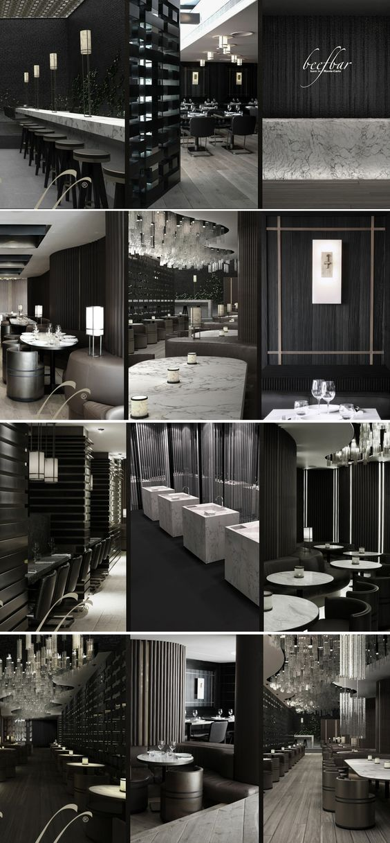 Great Design Ideas To Work Incorporate Into Home Design.The Beef Bar  Designed By Tony Chi.