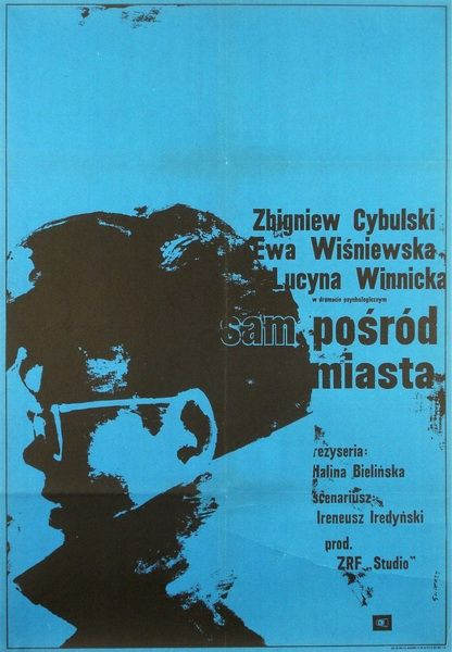 Alone in the City #film #poster (Poland, 1965)