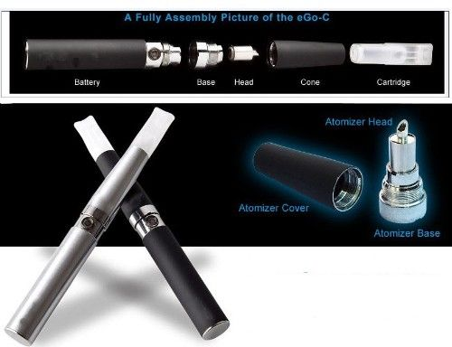 EGO-C 1100mAh Starter Kits - get yours at http://www.absolutelyecigs.com/type-c-48.html