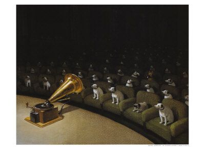 His Master's Voice by Michael Sowa