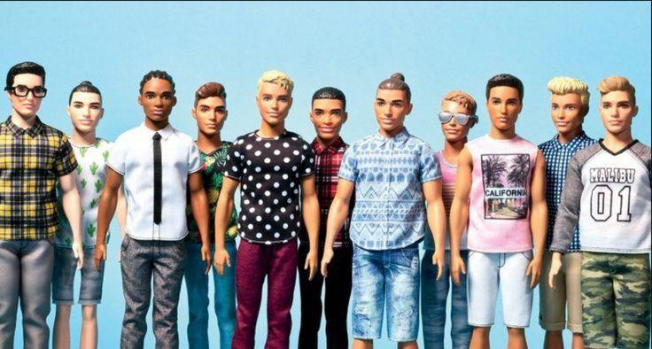 Ya salió el nuevo Ken: Es robusto, delgado y tiene trenzas africanas