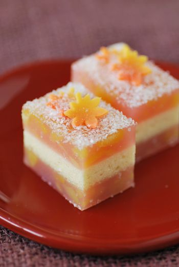 """Japanese Sweets """"wagashi"""",  初霜 Hatsushimo - First frost"""