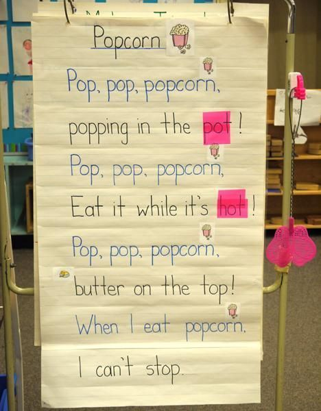 """@balancedlitdiet ---> """"Poem of the Week"""" engages students in rhyming, word…"""