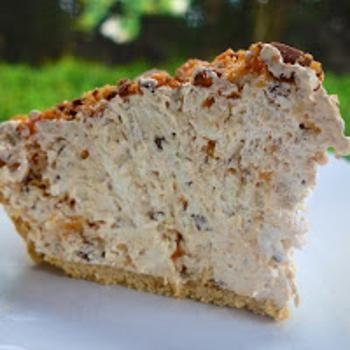 Butterfinger Pie {No Bake}