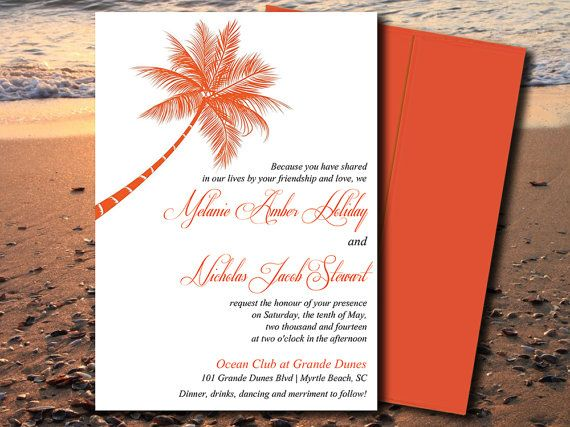 Best 25+ Orange wedding invitations ideas on Pinterest October - invitation templates for microsoft word