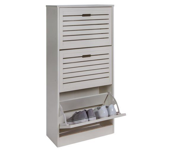 Buy HOME Hereford Shoe Storage Cabinet - White at Argos.co.uk, visit Argos.co.uk to shop online for Shoe storage, Storage, Home and garden