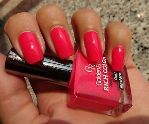 High Quality Golden Rose RICH COLOR nail polish Gel Technology Maxi Brush 10.5ml