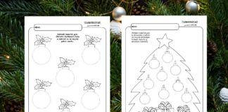 Vianoce – grafomotorika