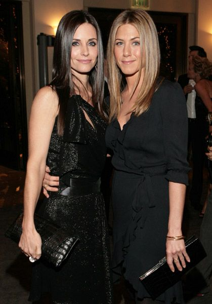 Courtney Cox (Andrea) & Jennifer Anniston (Me) lol