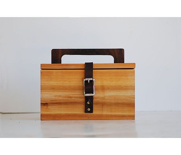 i want i want wooden lunch box