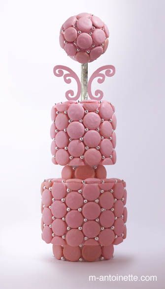 french macaron cake ✿⊱╮