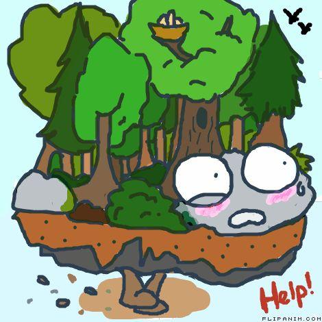 Run Forest! Run! by ShadowEyes #gif #anim #animation #flipanim #flipbook #drawing #draw