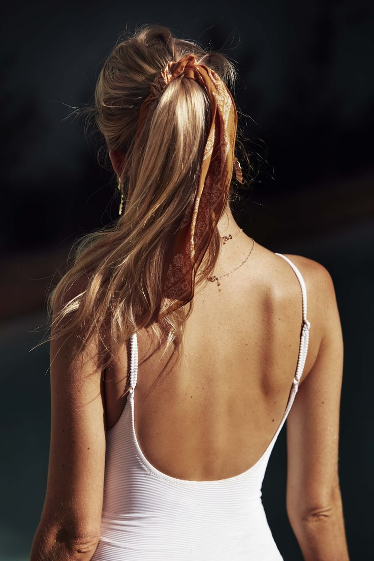 Rhythm Poolside | Palm Springs White One Piece