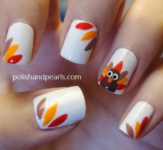 15 Festive Thanksgiving Nail Designs