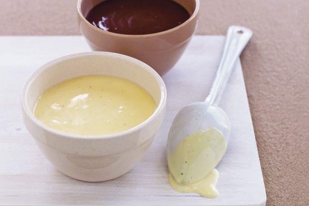 Nothing tastes better poured over winter puddings than homemade vanilla custard ~ using leftover egg yolks