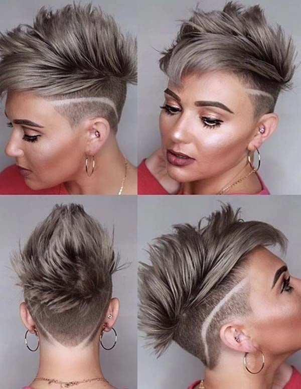 Try our easy and cute ideas of undercut short hairstyles trends to get bold  and modern