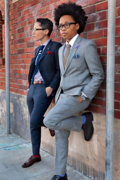 Amp up your suit game with playful accessories such as a boutonnière, pocket square, pin, or fun socks.